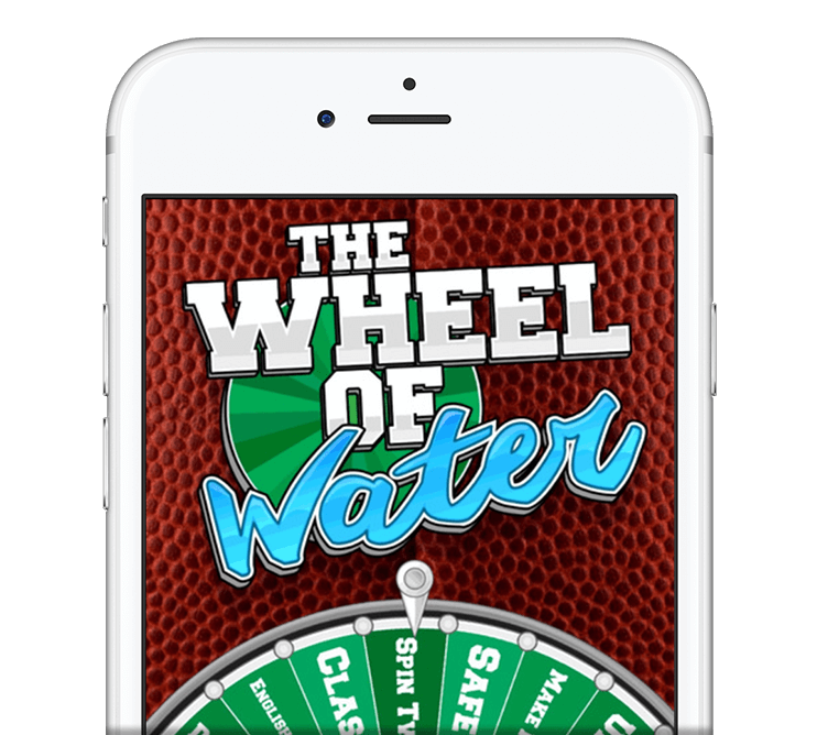 ios app - The Wheel of Water App from The Fantasy Footballers